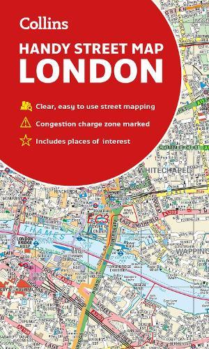 London Map Street.Collins London Handy Street Map Sheet Map Folded