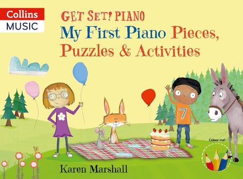 My First Piano Pieces, Puzzles & Activities - Get Set! Piano (Paperback)