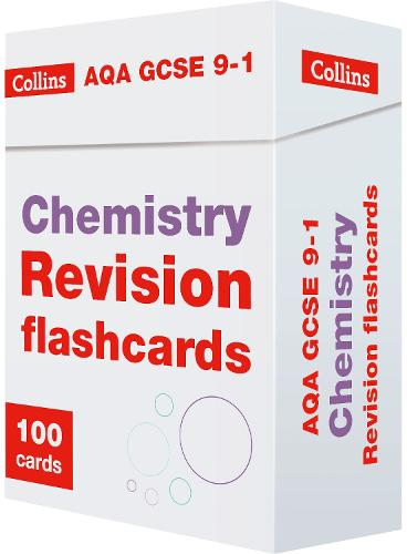 AQA GCSE 9-1 Chemistry Revision Cards: Ideal for Home Learning, 2021 Assessments and 2022 Exams - Collins GCSE Grade 9-1 Revision