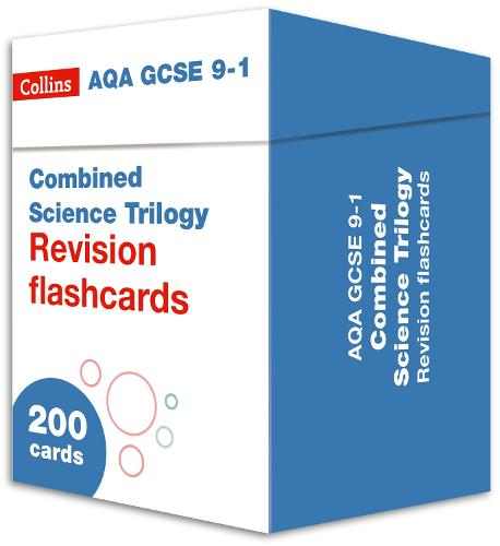 AQA GCSE 9-1 Combined Science Revision Cards (Biology, Chemistry & Physics): Ideal for Home Learning, 2021 Assessments and 2022 Exams - Collins GCSE Grade 9-1 Revision