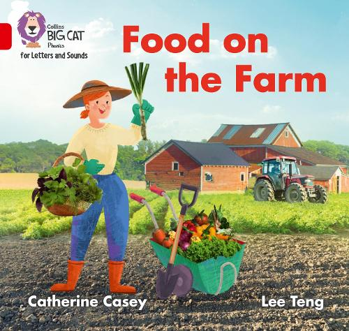 Food on the Farm: Band 2b/Red B - Collins Big Cat Phonics for Letters and Sounds (Paperback)