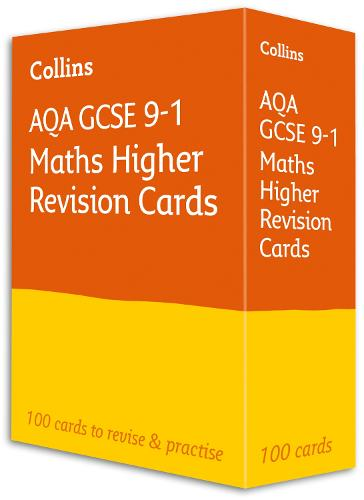 New AQA GCSE 9-1 Maths Higher Revision Flashcards - Collins GCSE 9-1 Revision