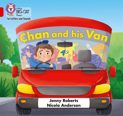 Chan and his Van: Band 02a/Red a - Collins Big Cat Phonics for Letters and Sounds (Paperback)