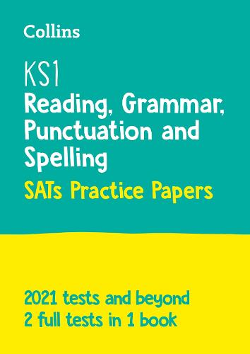 New KS1 SATs English Reading, Grammar, Punctuation and Spelling Practice Papers: For the 2020 Tests - Collins KS1 SATs Practice (Paperback)