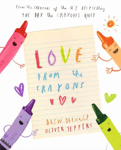 Love from the Crayons (Hardback)