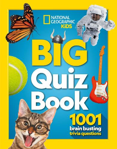 Big Quiz Book: 1001 Brain Busting Trivia Questions - National Geographic Kids (Paperback)