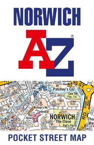 Norwich A-Z Pocket Street Map (Sheet map, folded)