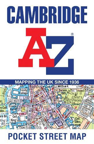 Cambridge A-Z Pocket Street Map (Sheet map, folded)