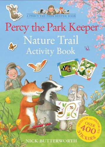 Percy the Park Keeper Nature Trail Activity Book (Paperback)