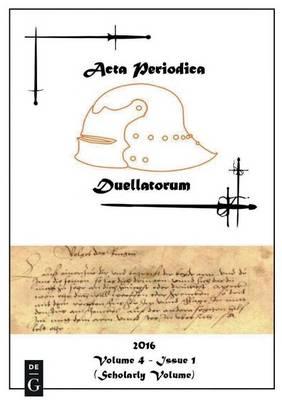 ACTA Periodica Duellatorum (Paperback)