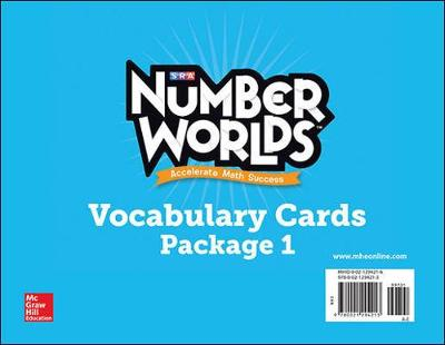 Number Worlds Levels A-E, Vocabulary Cards - Number Worlds
