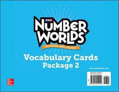 Number Worlds Levels F-J, Vocabulary Cards - Number Worlds