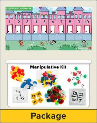 Number Worlds Level F, Manipulatives Plus Pack - Number Worlds (Book)