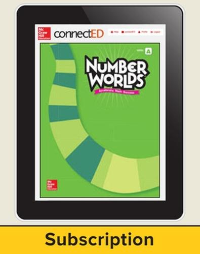 Number Worlds Level A, Student License, 1-year subscription, 5 students - Number Worlds