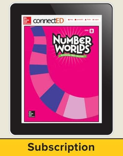Number Worlds Level B, Student License, 1-year subscription, 5 students - Number Worlds