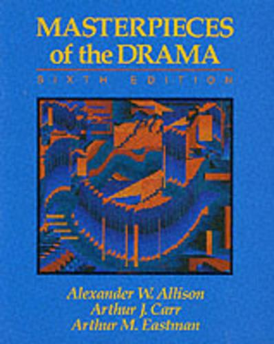 Masterpieces of the Drama (Paperback)