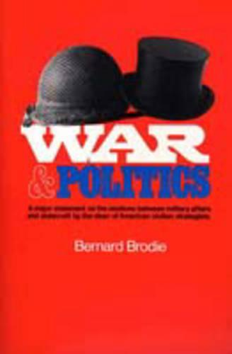 War and Politics (Paperback)