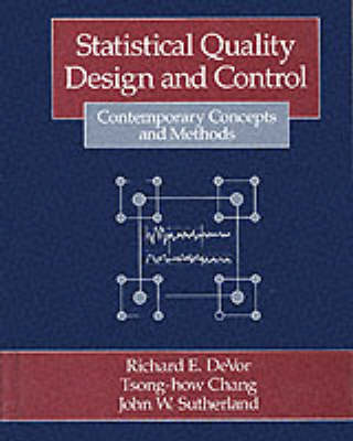 Statistical Methods for Quality Design and Control (Hardback)