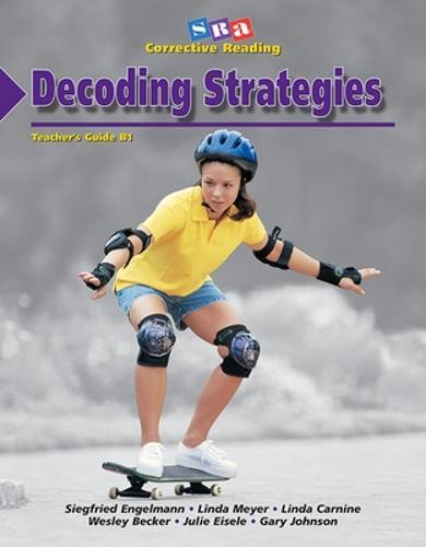 Corrective Reading Decoding Level B1, Teacher Guide - CORRECTIVE READING DECODING SERIES (Paperback)