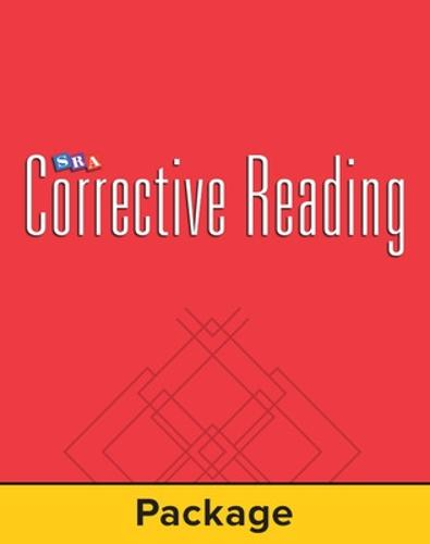 Corrective Reading Comprehension Level B1, Mastery Test Package (for 15 students) - CORRECTIVE READING COMPREHENSION SERIES