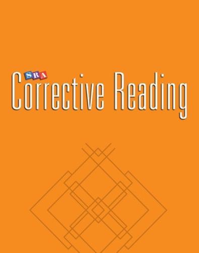 Corrective Reading Decoding Level A, Teacher Material - CORRECTIVE READING DECODING SERIES