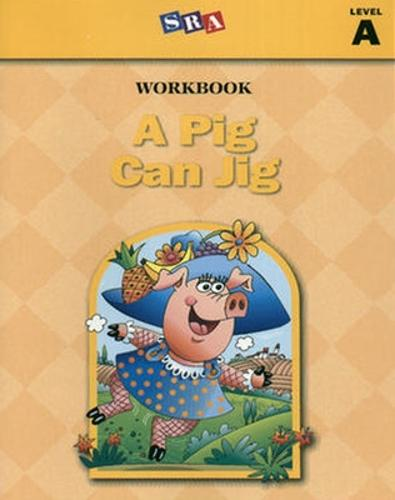 Basic Reading Series, A Pig Can Jig Workbook, Level A - BASIC READING SERIES (Spiral bound)
