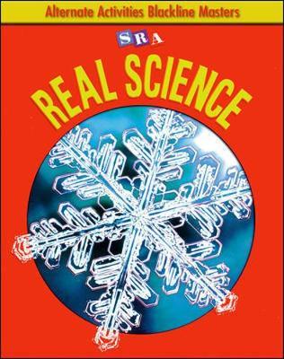 SRA Real Science: Alternate Activities Blackline Masters: Grade 1 - Snapshots Science (Hardback)