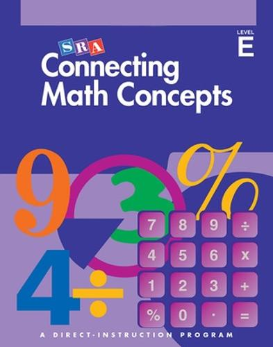 Connecting Math Concepts Level E, Additional Answer Key - CONNECTING MATH CONCEPTS