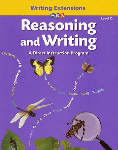 Reasoning and Writing Level D, Writing Extensions Blackline Masters - REASONING AND WRITING SERIES