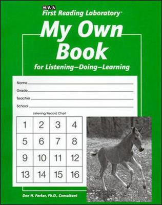First Reading Laboratory, Additional Student Record Book - My Own Book (Pkg. of 10), Grades K-1 - FIRST READING LAB (Book)