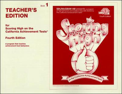 Scoring High on the California Achievement Tests (CAT), Grade1 Teacher Edition - SCORING HIGH, CAT (Paperback)