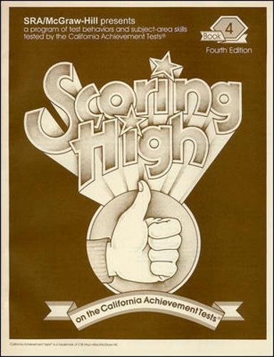 Scoring High on the California Achievement Tests (CAT), Student Edition Grade 4 - SCORING HIGH, CAT (Paperback)