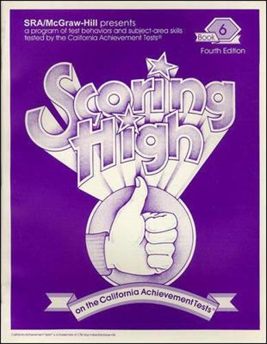 Scoring High on the California Achievement Tests (CAT), Student Edition Grade 6 - SCORING HIGH, CAT (Paperback)