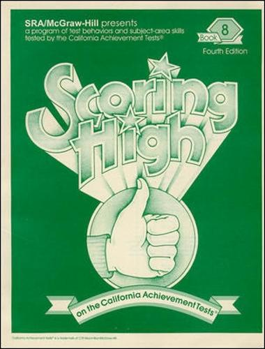 Scoring High on the California Achievement Tests (CAT), Student Edition Grade 8 - SCORING HIGH, CAT (Paperback)