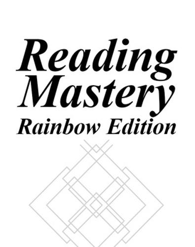 Reading Mastery Fast Cycle I And II 1995 Rainbow Edition, Teacher Edition Of Take-Home Books - READING MASTERY CLASSIC (Paperback)