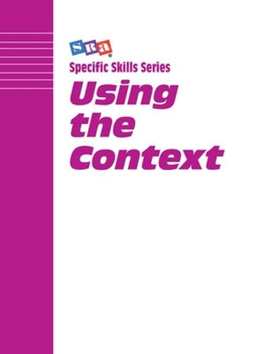 Specific Skills Series, Using the Context, Book H - SPECIFIC SKILLS SERIES (Paperback)