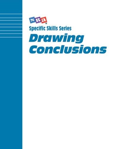 Specific Skills Series, Drawing Conclusions, Book G - SPECIFIC SKILLS SERIES (Paperback)