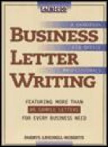 Business Letter Writing: A Handbook for Office Professionals - Arco S. (Paperback)