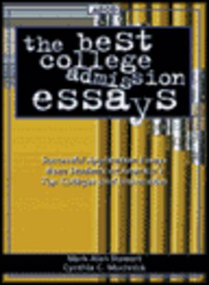 The Best College Admission Essays (Paperback)