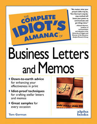 The Complete Idiot's Almanac of Business Letters and Memos (Paperback)