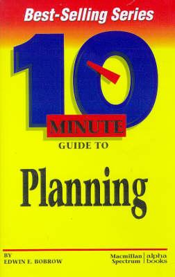 Ten Minute:planning (Paperback)