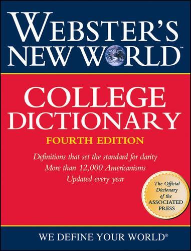 Webster's New World College Dictionary, (Cloth - Leatherkraft) (Hardback)