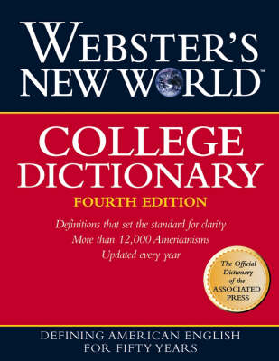 Webster's New World College Dictionary, (Cloth Plain Edged) (Hardback)