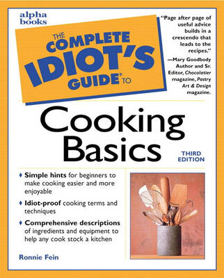 Complete Idiot's Guide to Cooking Basics, Third Edition (Paperback)