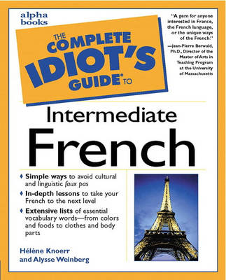 Complete Idiot's Guide to Intermediate French (Paperback)
