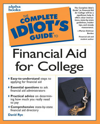 Complete Idiot's Guide to Financial Aid for College (Paperback)