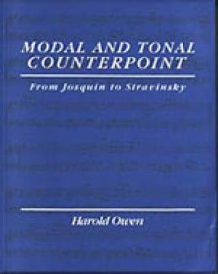 Modal and Tonal Counterpoint: From Josquin to Stravinsky (Paperback)