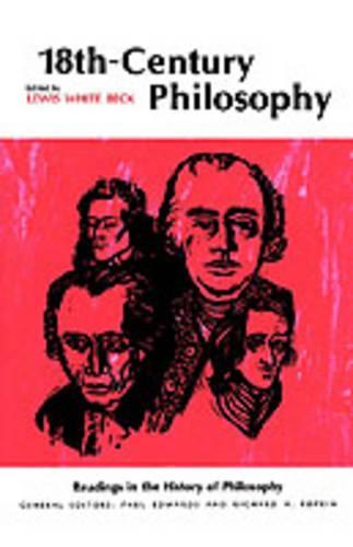 Eighteenth-Century Philosophy (Paperback)