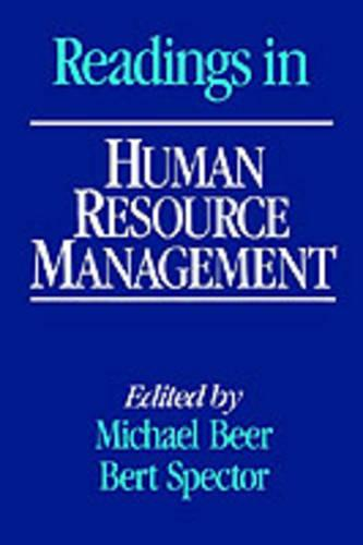 Readings in Human Resource Management (Paperback)