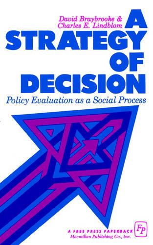 Strategy of Decision (Paperback)